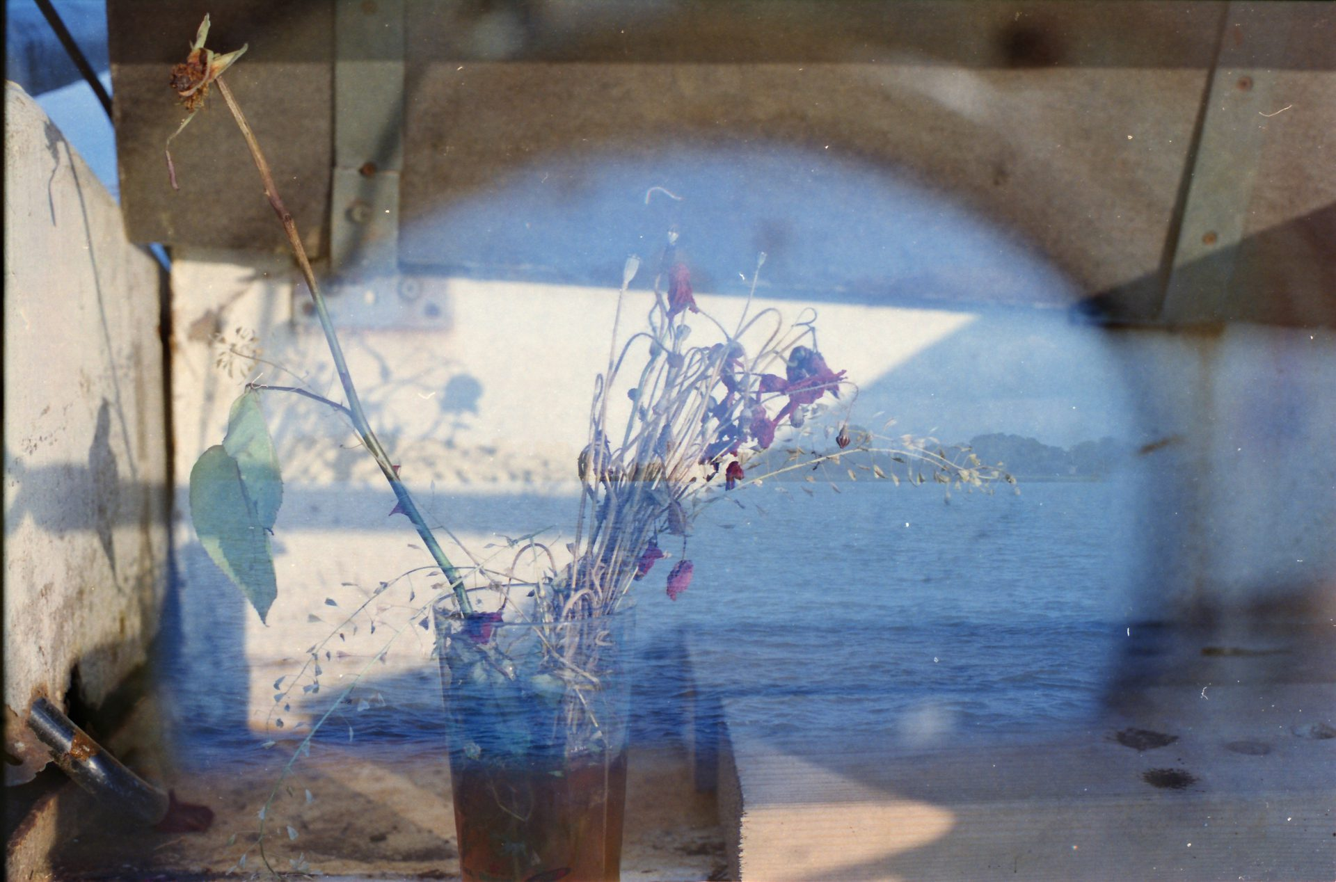 glass full of sea-unseen